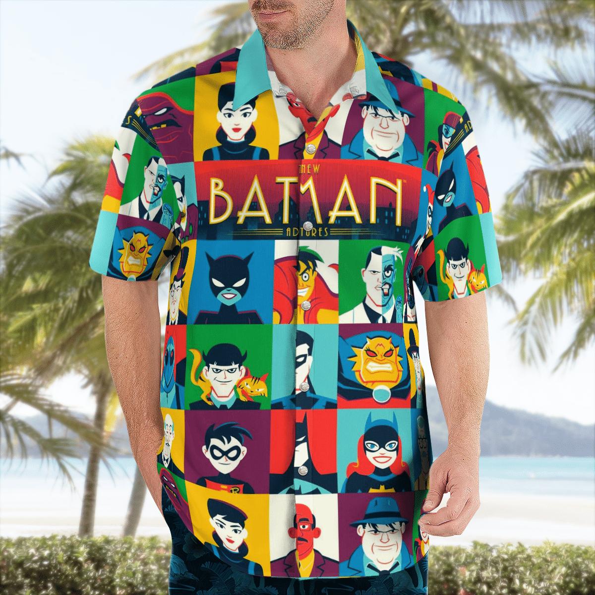 Animated The New Batman Adventure Hawaiian Shirt Summer Shirt