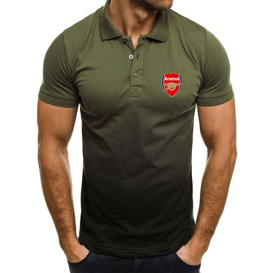 Arsenal football club Gradient Polo Shirt