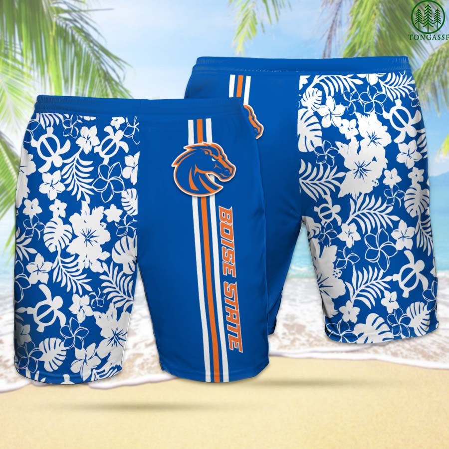 BSB BOISE STATE BRONCOS Hawaiian Shorts