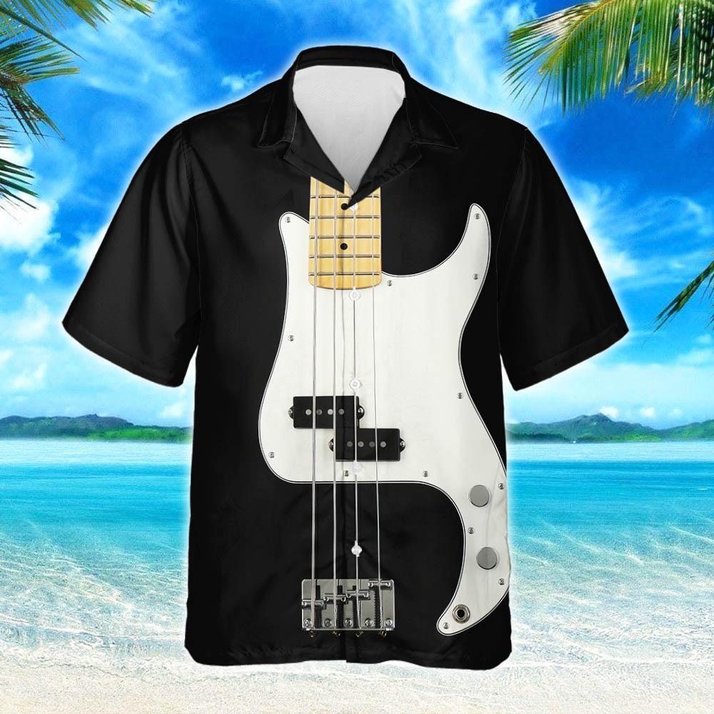 Bass Guitar Hawaiian Shirt 2