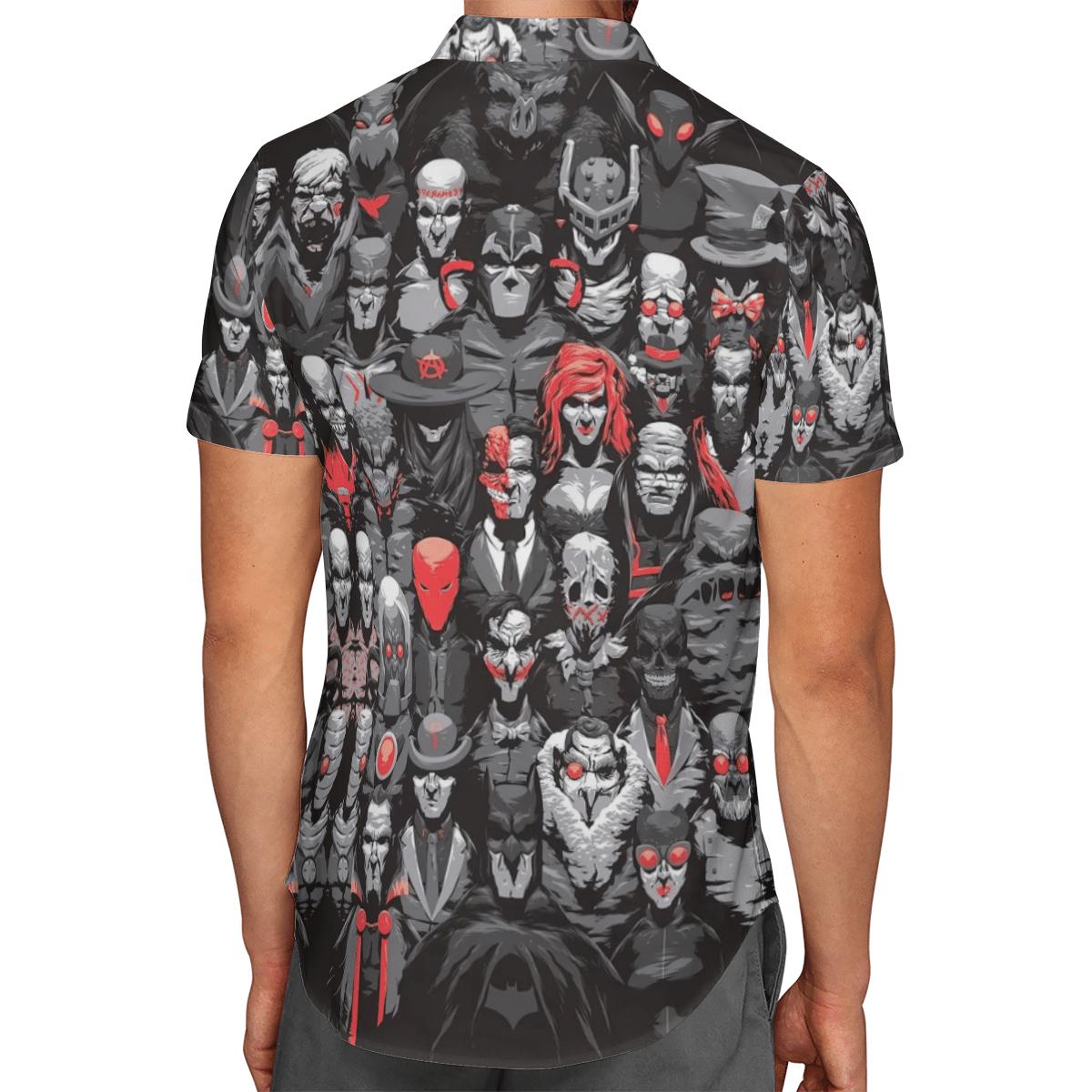 Bat and his Rogues Hawaiian Shirt Summer Shirt