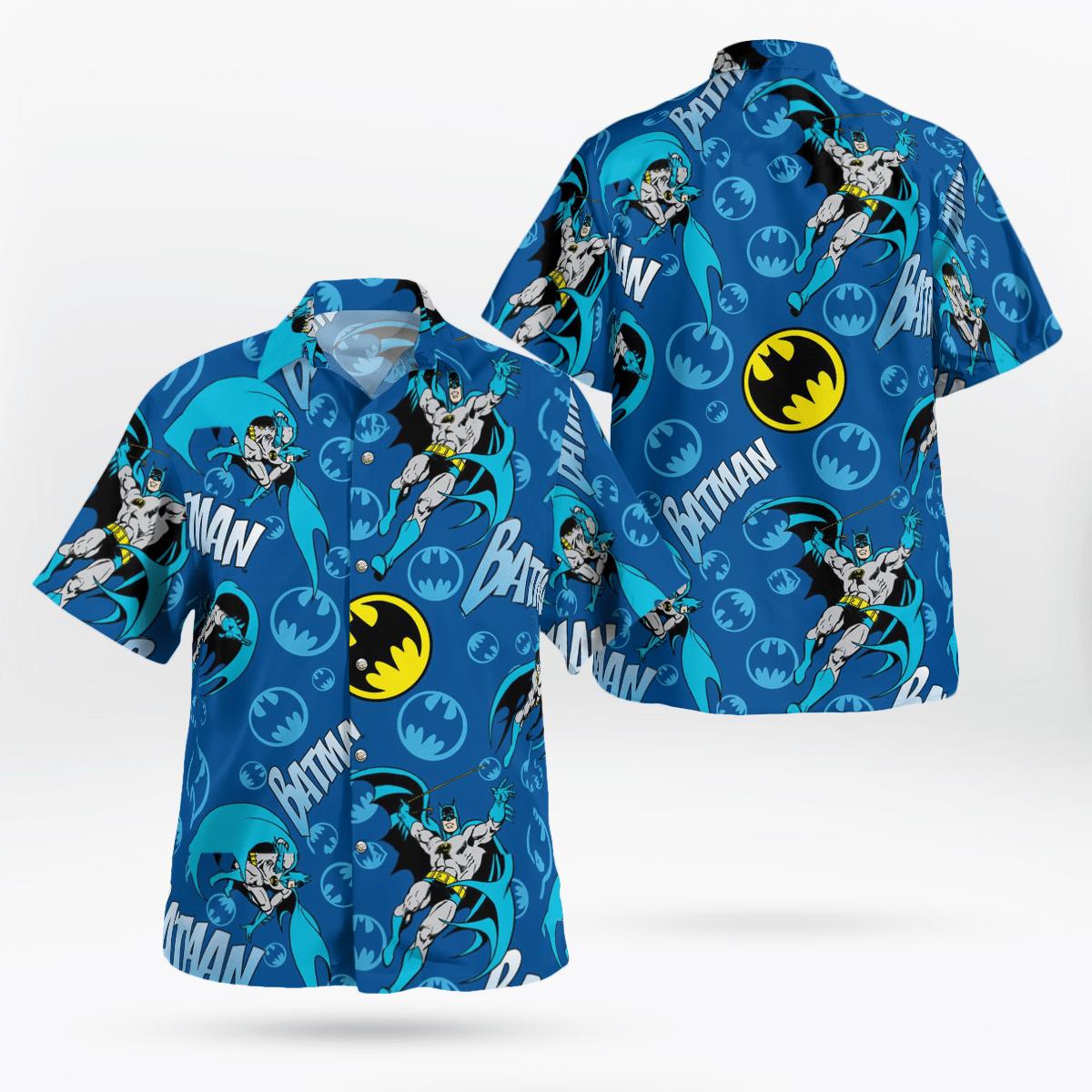 Batman Classic pattern Hawaiian Shirt Beach Shirt