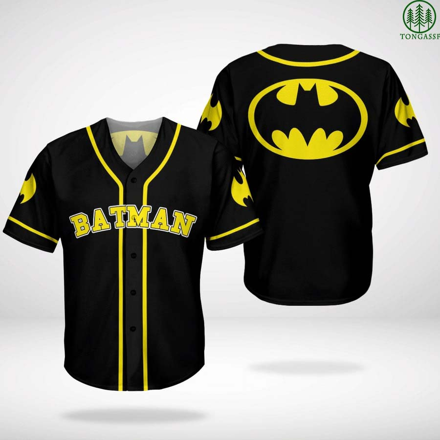 Batman Dark Knight Baseball Jersey Shirt