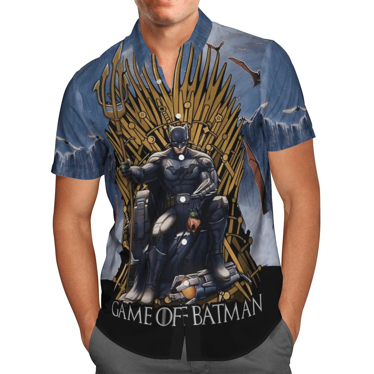 Batman Game of Thrones Hawaiian Shirt Summer Shirt
