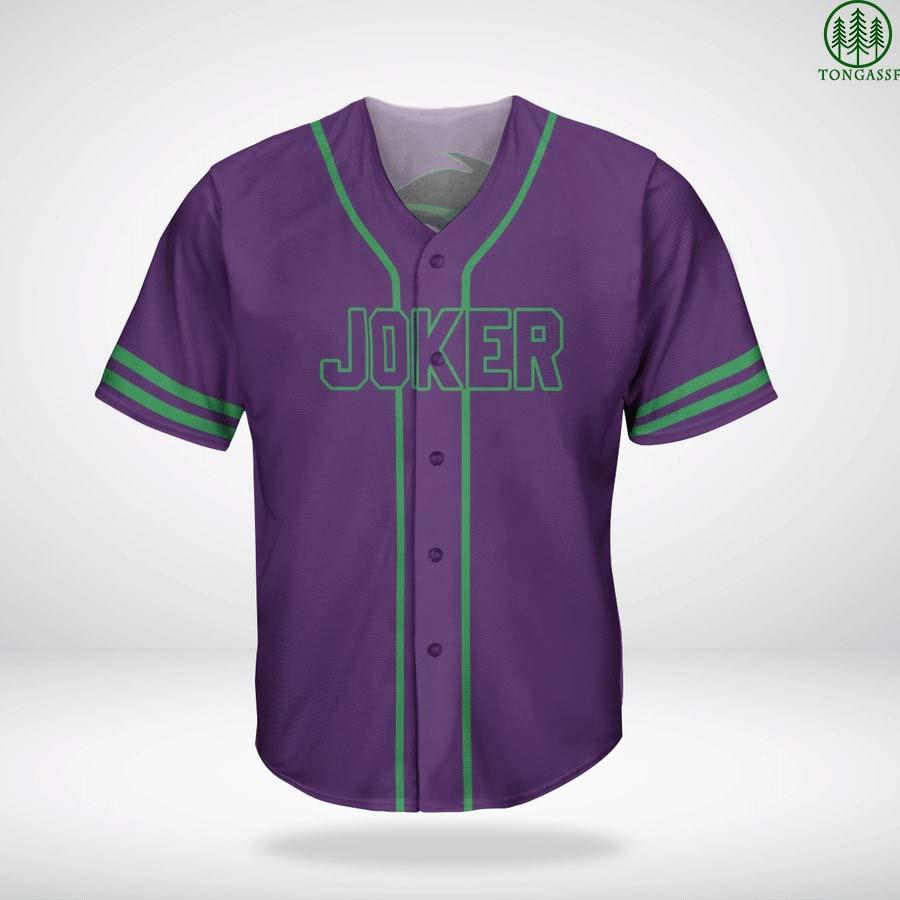Batman Joker baseball jersey shirt