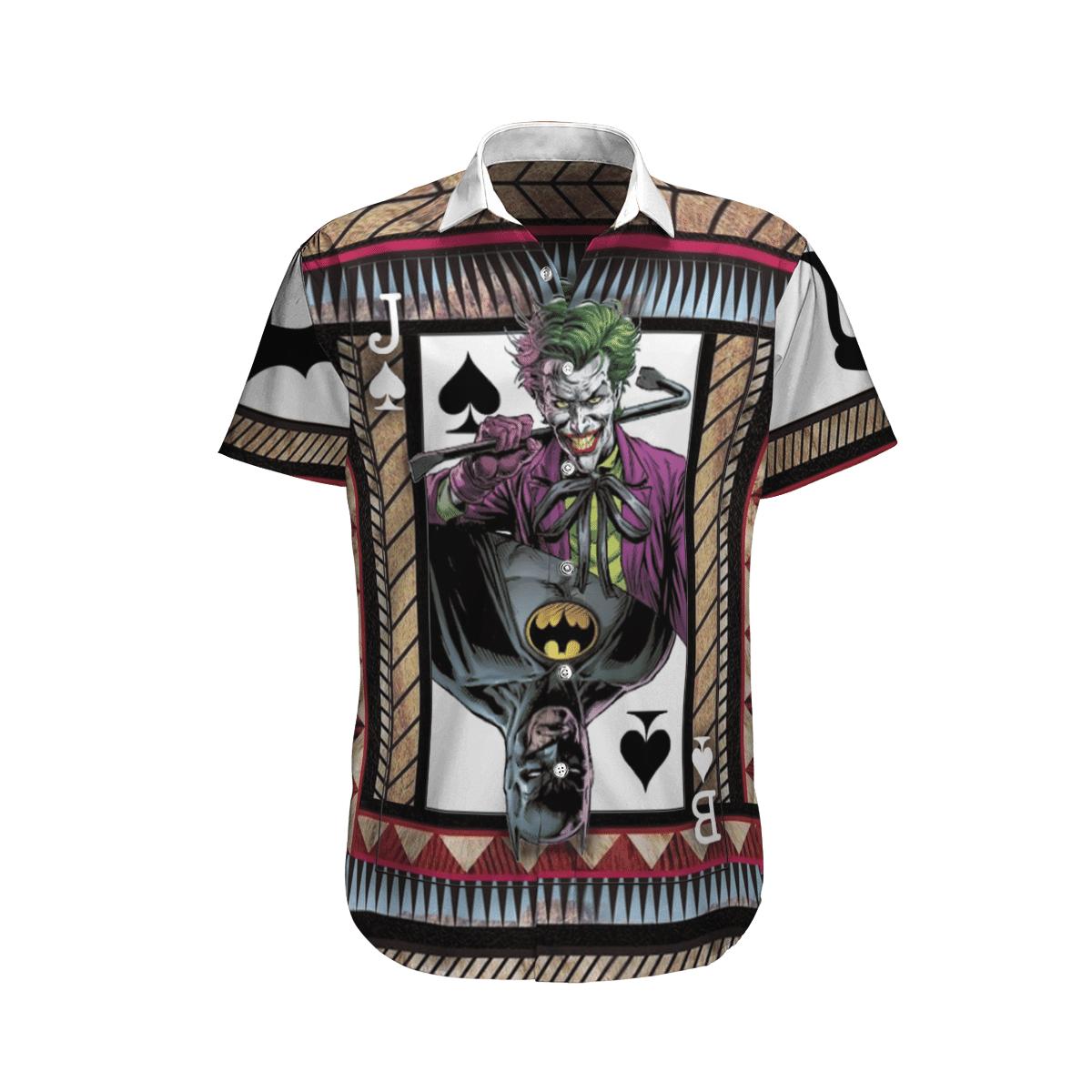 Batman ft Joker Hawaiian Shirt Beach Shirt