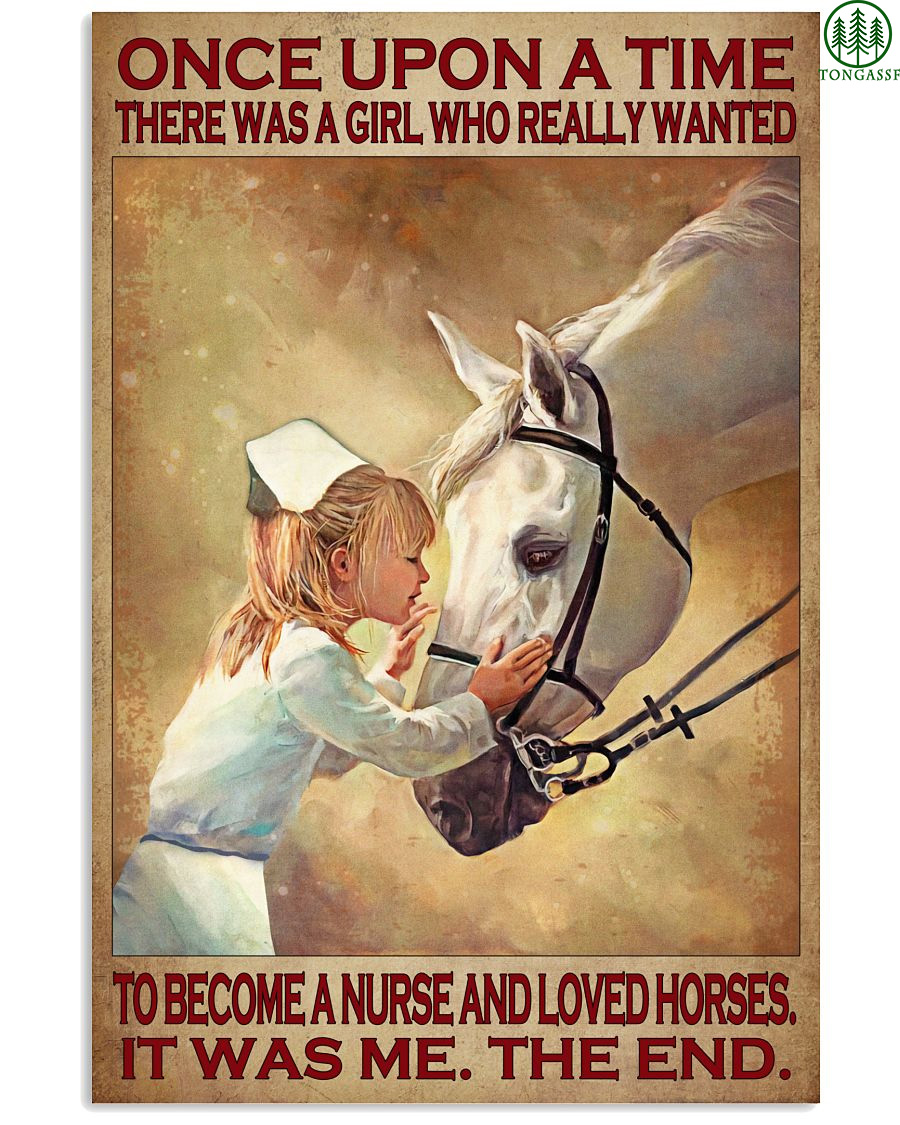 Become a nurse and love horses poster