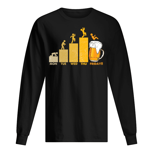 Beer Time Friday Weekend Shirt 3