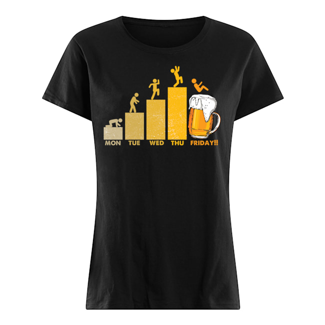 Beer Time Friday Weekend Shirt 5