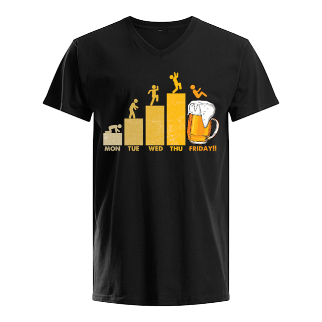 Beer Time Friday Weekend Shirt
