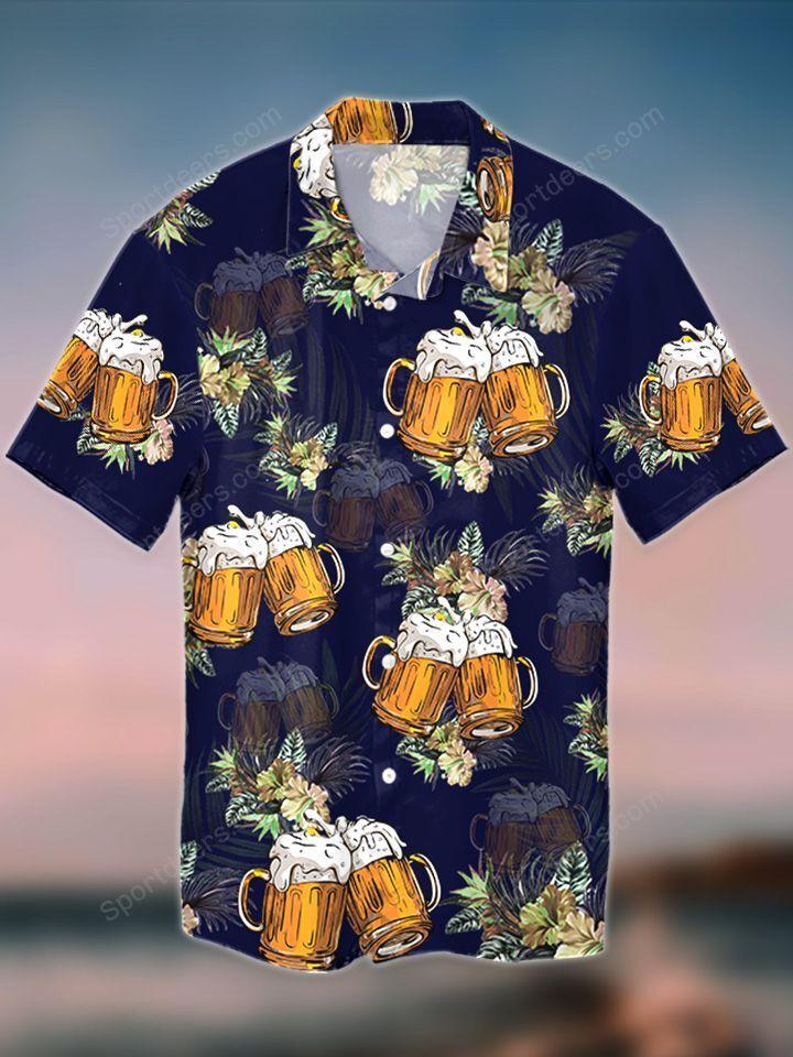 Beer Tropical Hawaiian Shirt 3