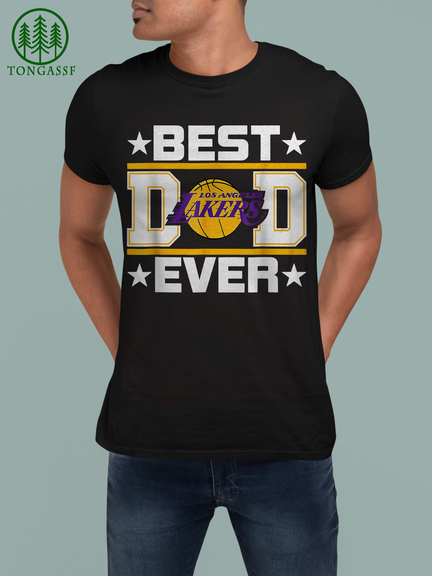 Best Dad Ever NFL Los Angeles Lakers Father Day shirt