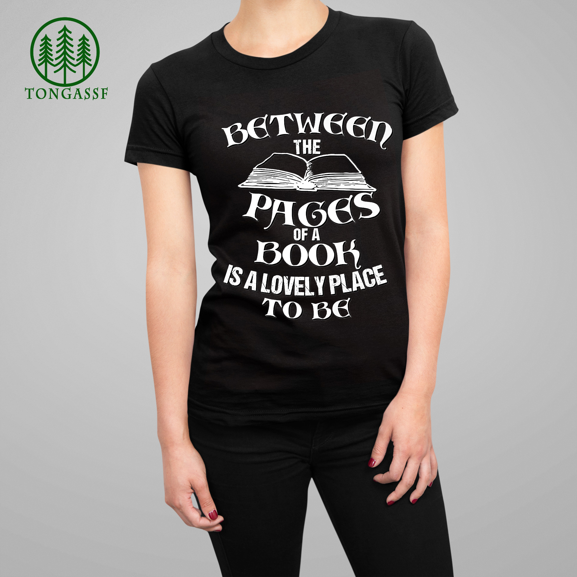 Between the pages of a book is lovely place to be Premium Shirt