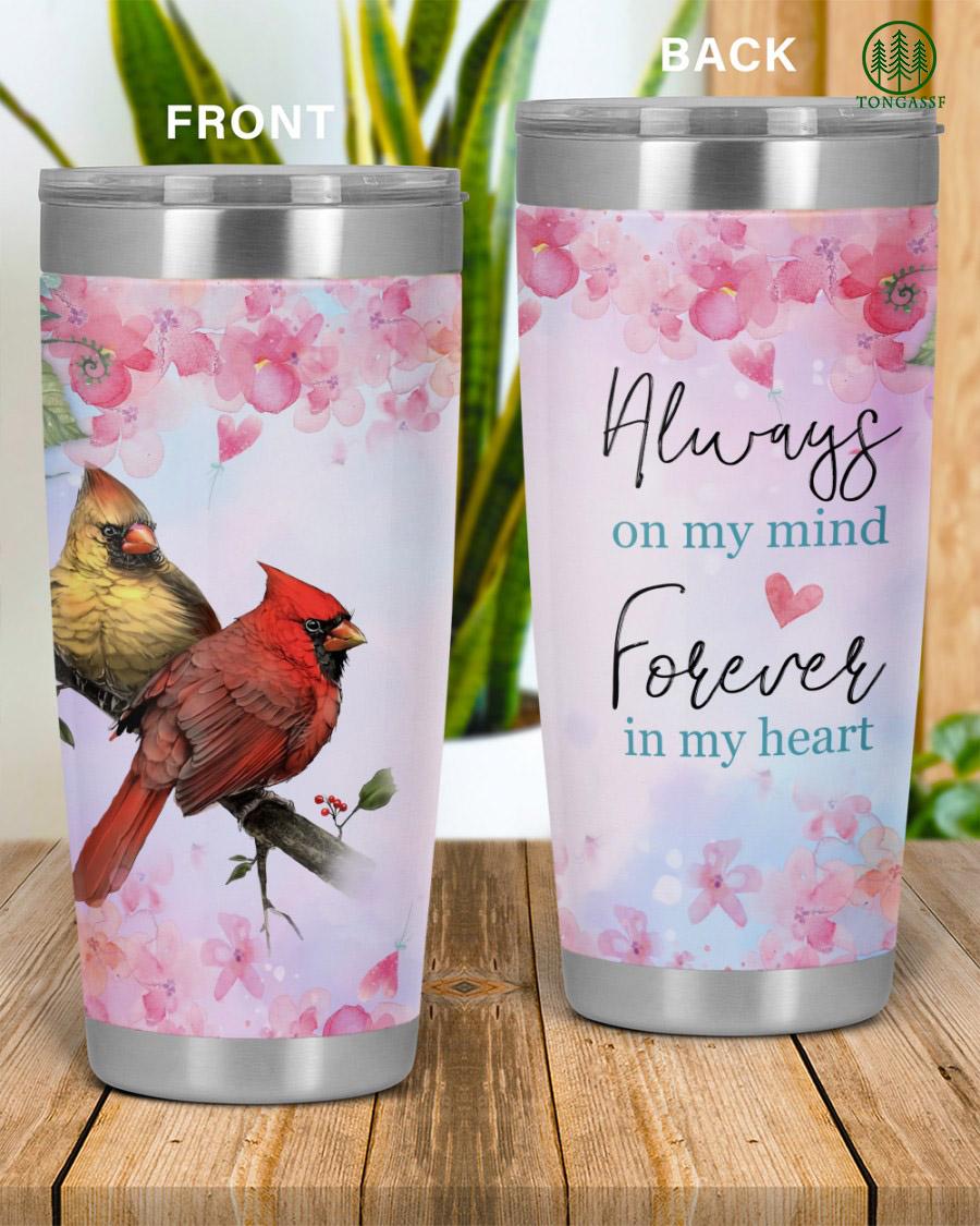 Bird couple Always On My Mind tumbler