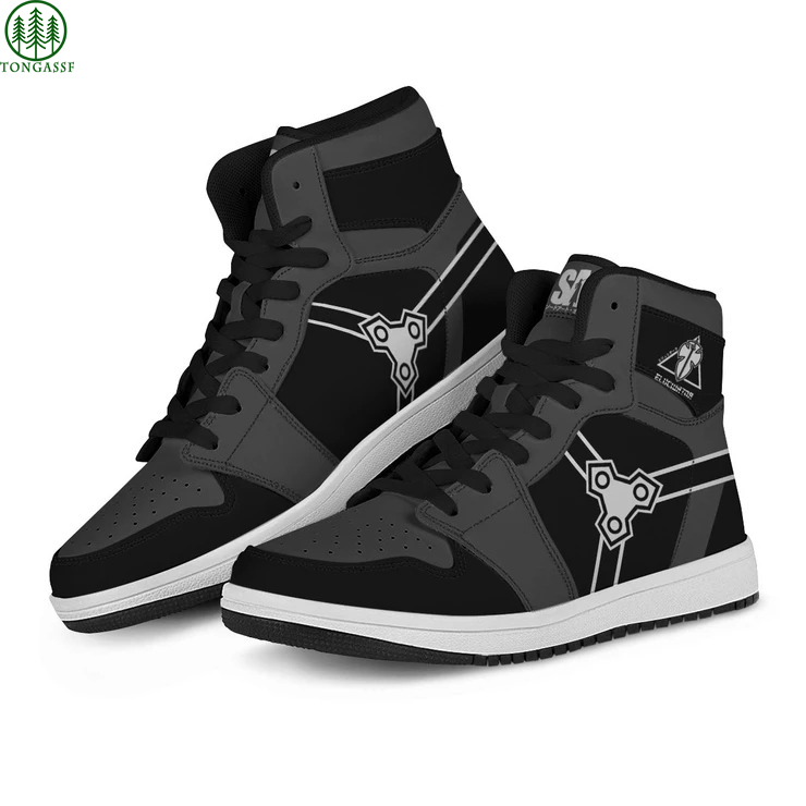 Black Kirito Elucidator JD Sneakers