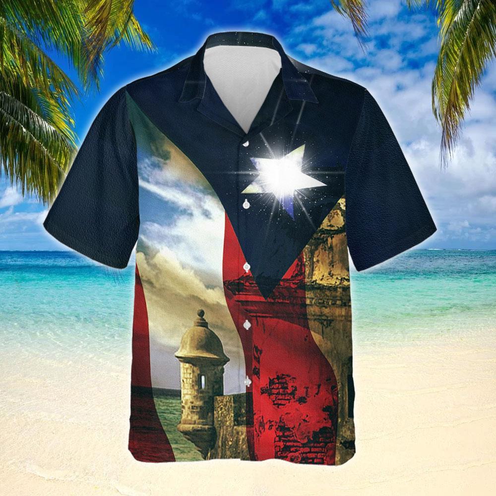 Boricua Puerto Rico Hawaiian Shirt 2