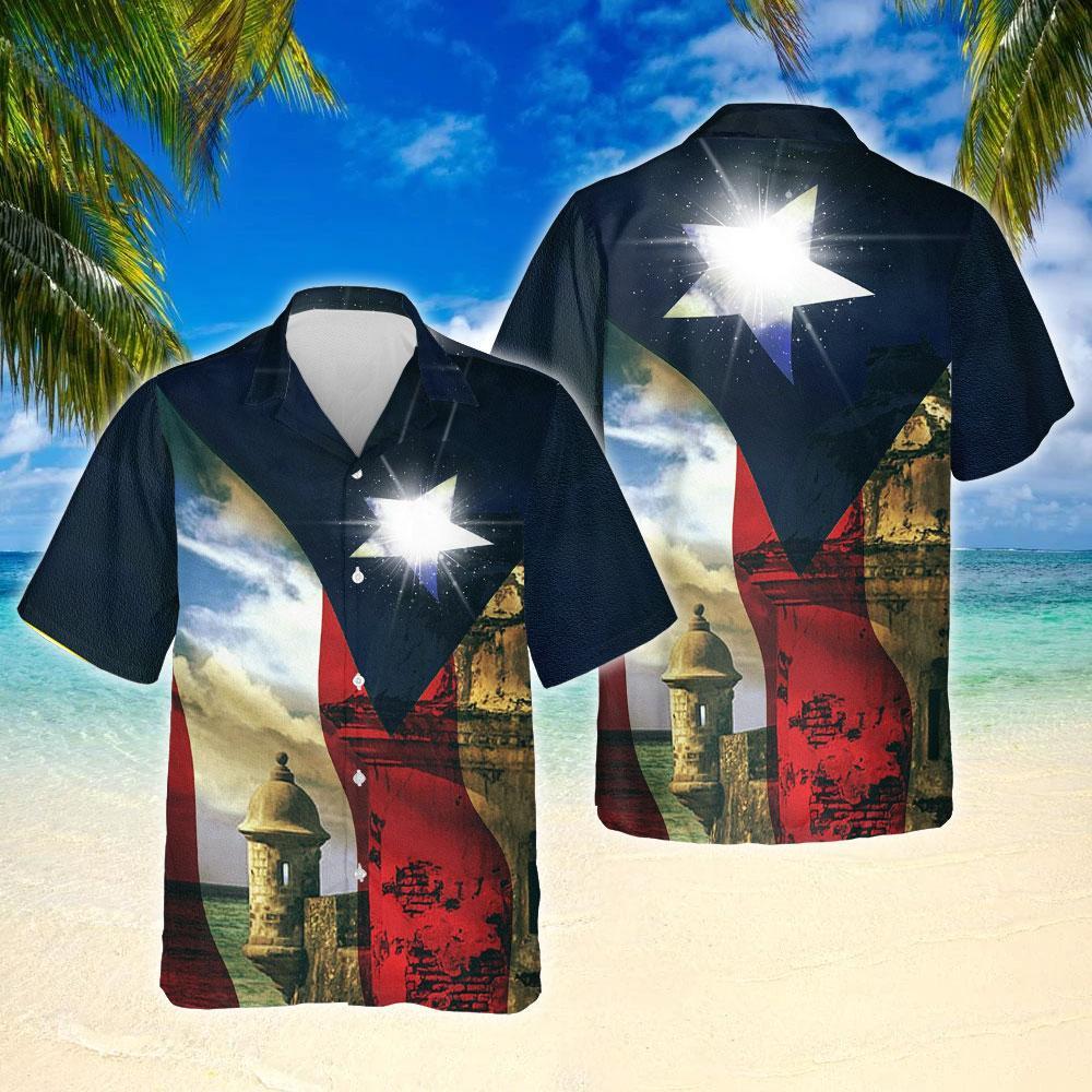 Boricua Puerto Rico Hawaiian Shirt