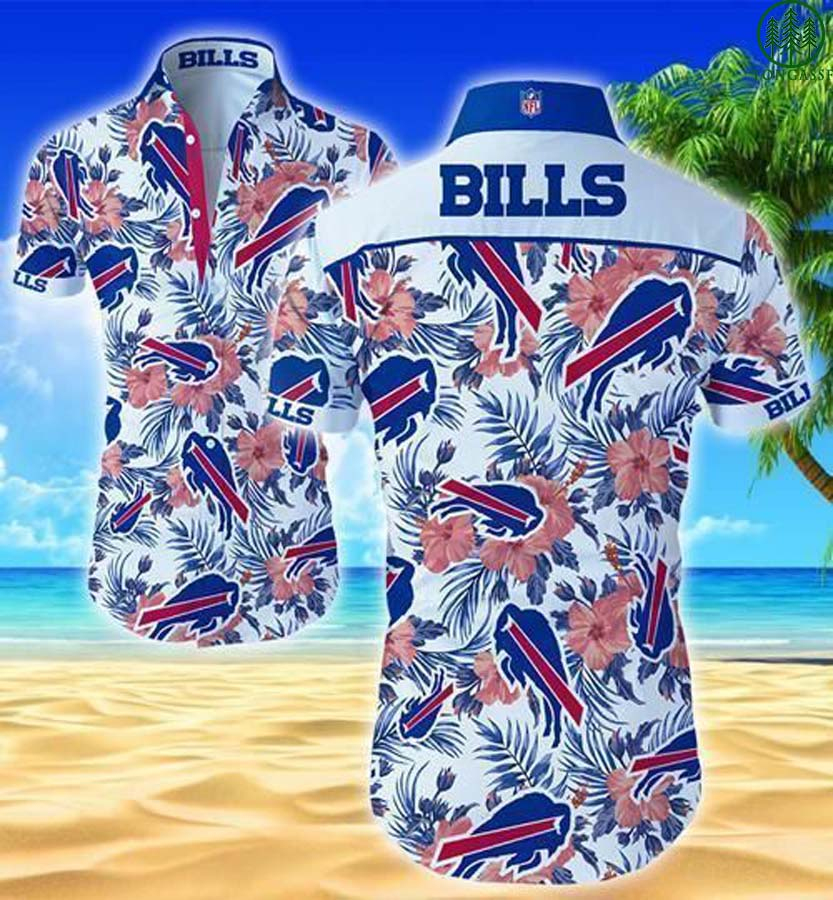 Buffalo Bills NFL Floral Hawaiian Shirt For Fans