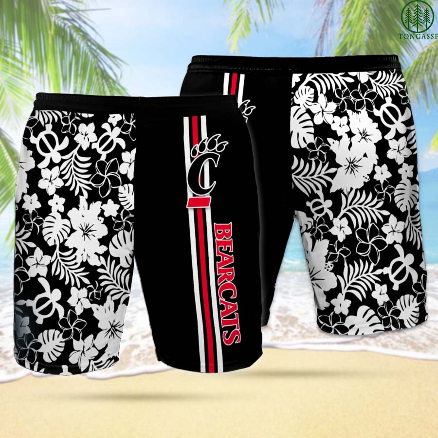 CB CINCINNATI BEARCATS Hawaiian Shorts