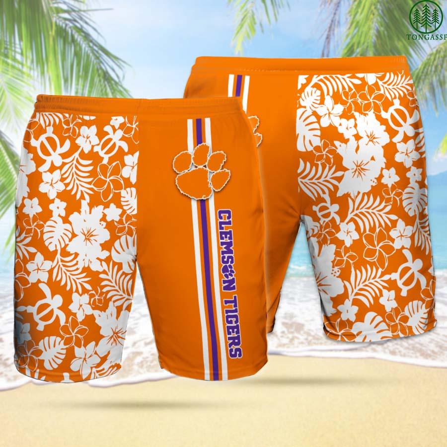CT CLEMSON TIGERS Hawaiian Shorts