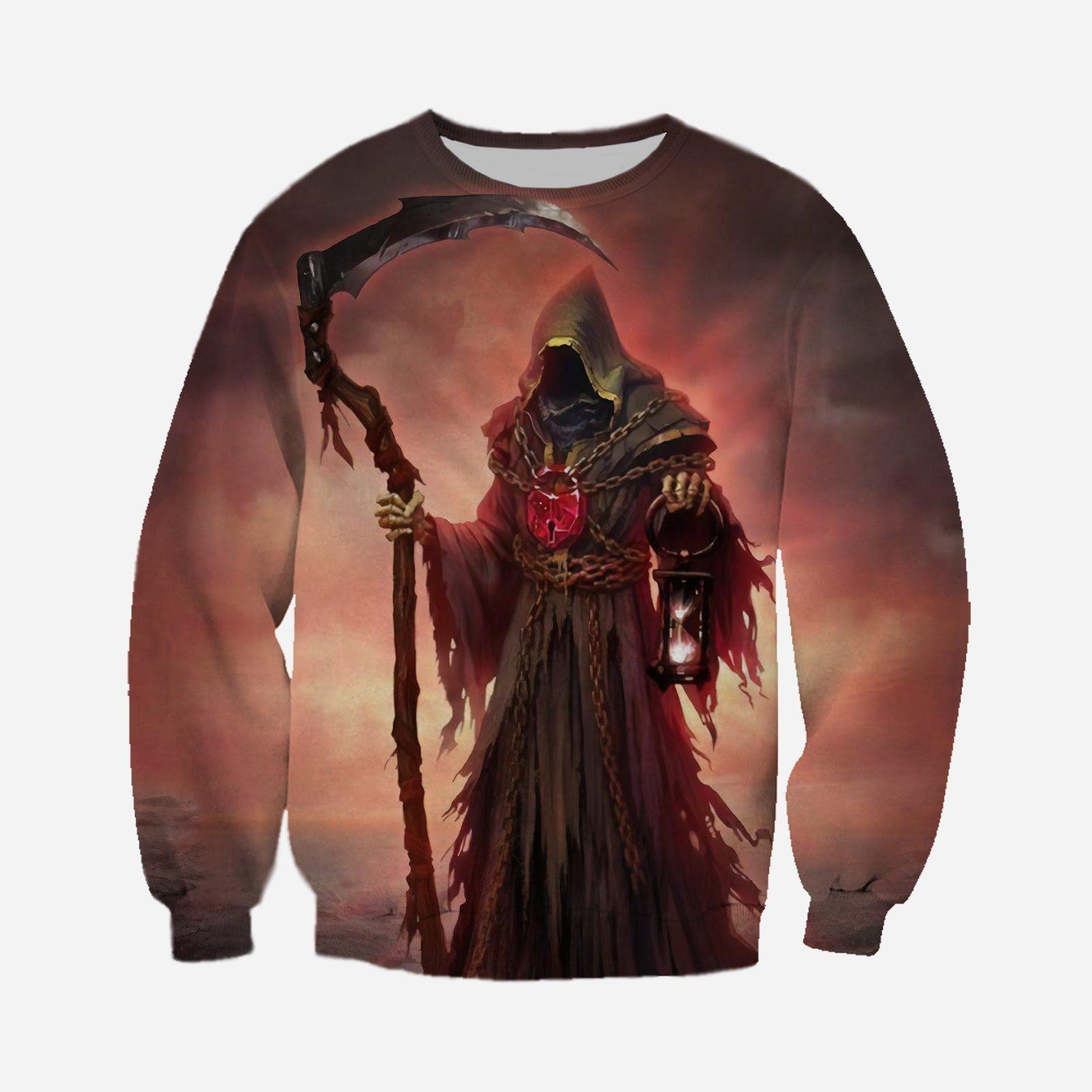 Halloween Death sweatshirt 3D