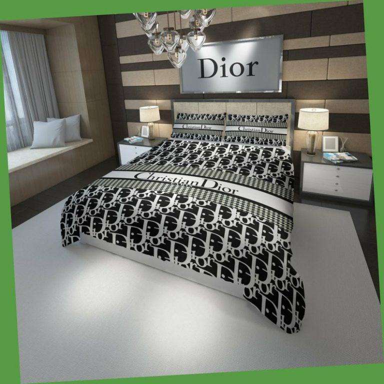 Christian Dior luxury brand bedding set