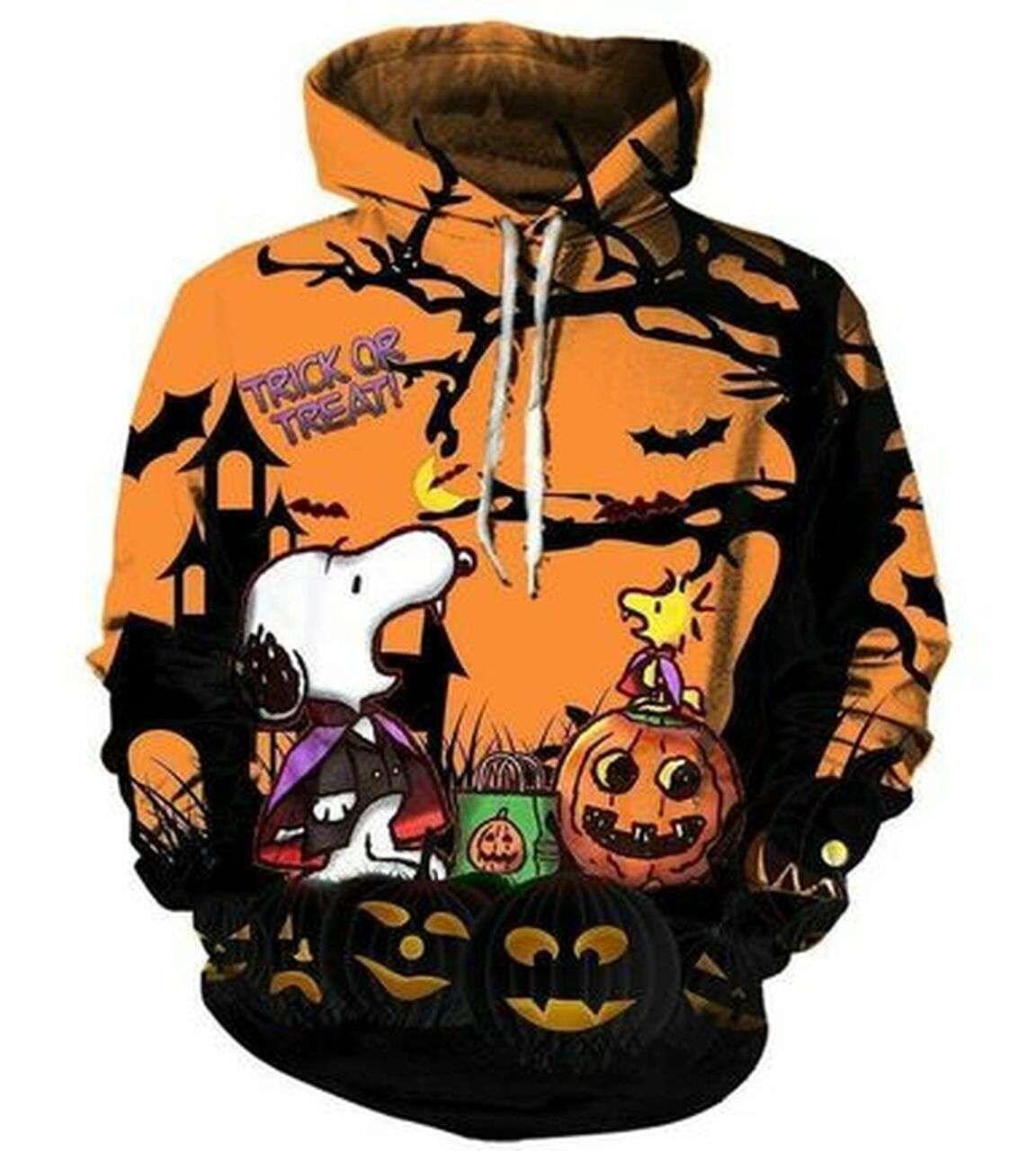 Cool Custom Hoodie Funny Peanuts Snoopy 3D Hoodie