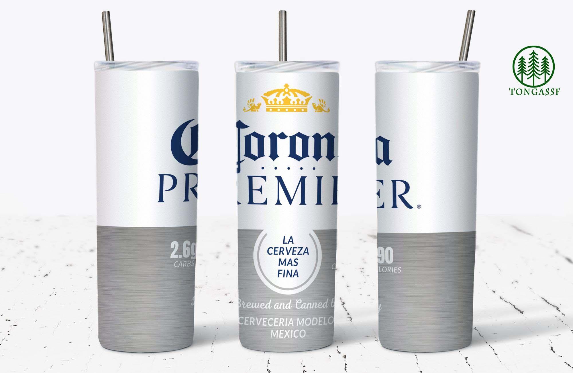 Corona Beer Skinny Tumbler