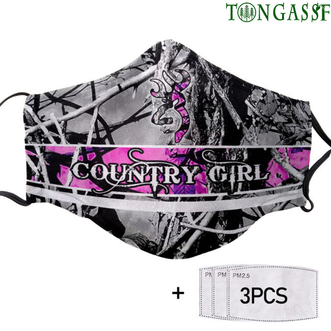 Country Girl Muddy Face mask