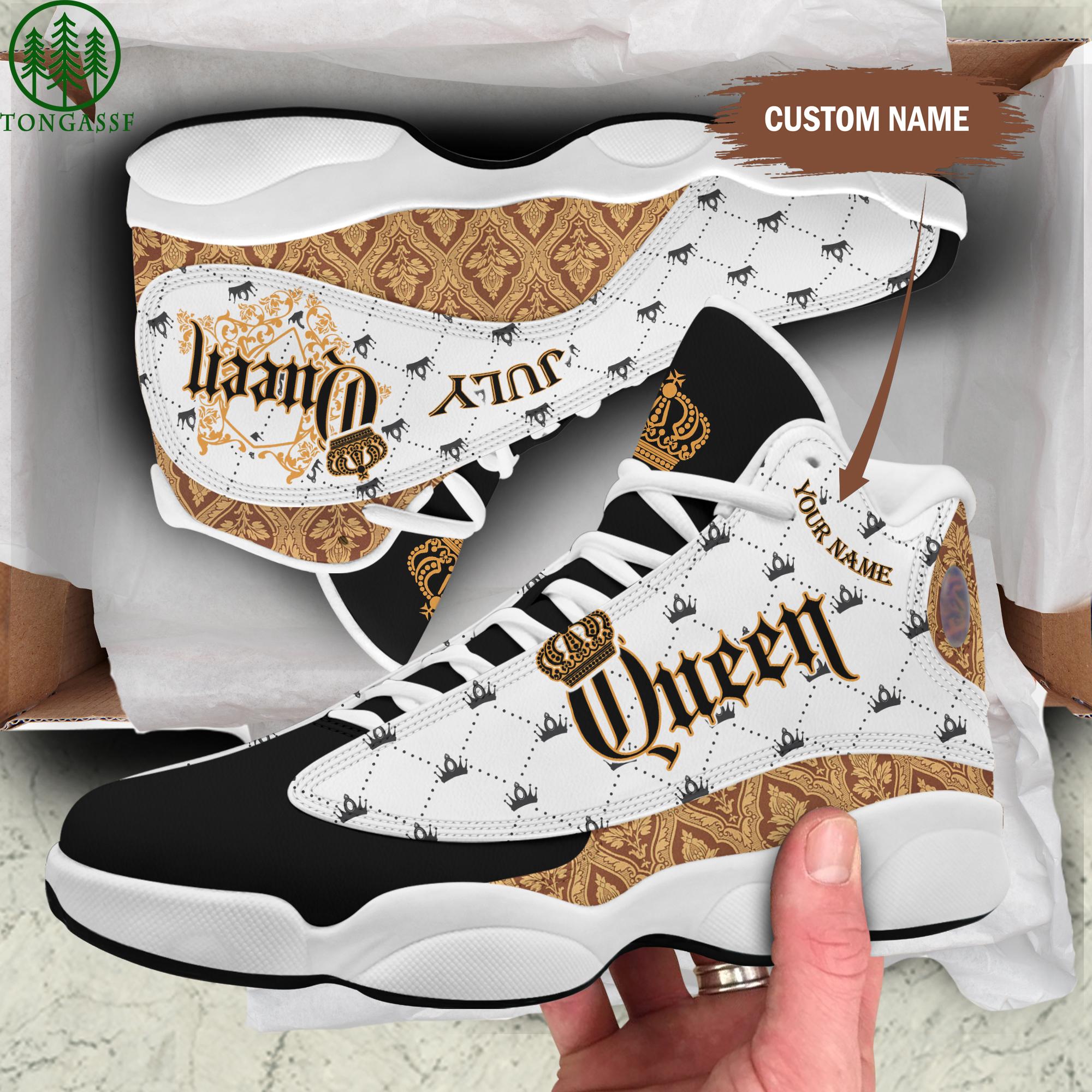Custom July Queen Jordan 13 Shoes 33