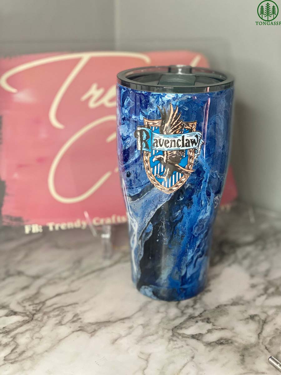 Custom Name Harry Potter Ravenclaw Tumbler Cup