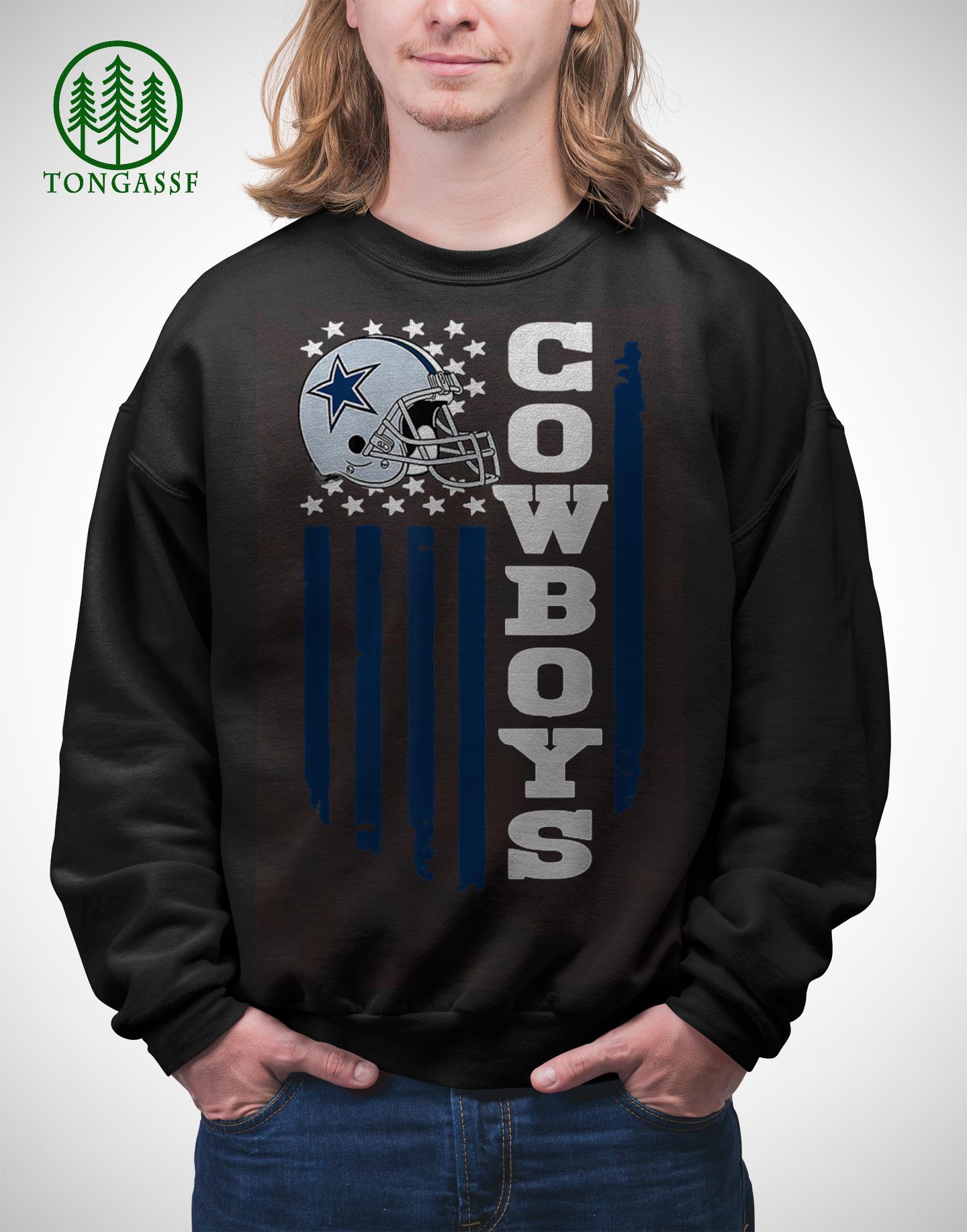 Dallas Cowboys Fan 4th of July America Flag sweatshirt
