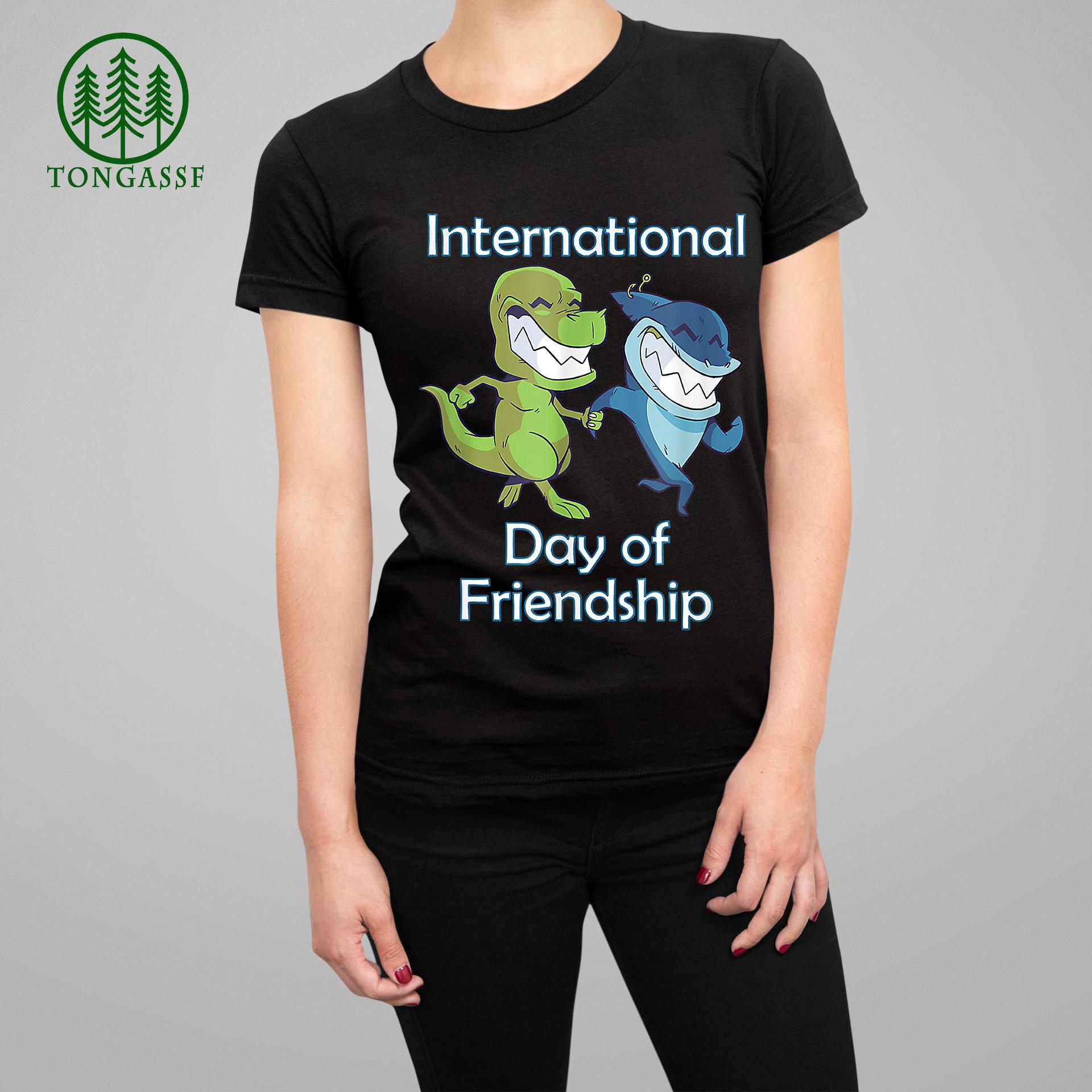 Dinosaur International Day Of Friendship T Shirt