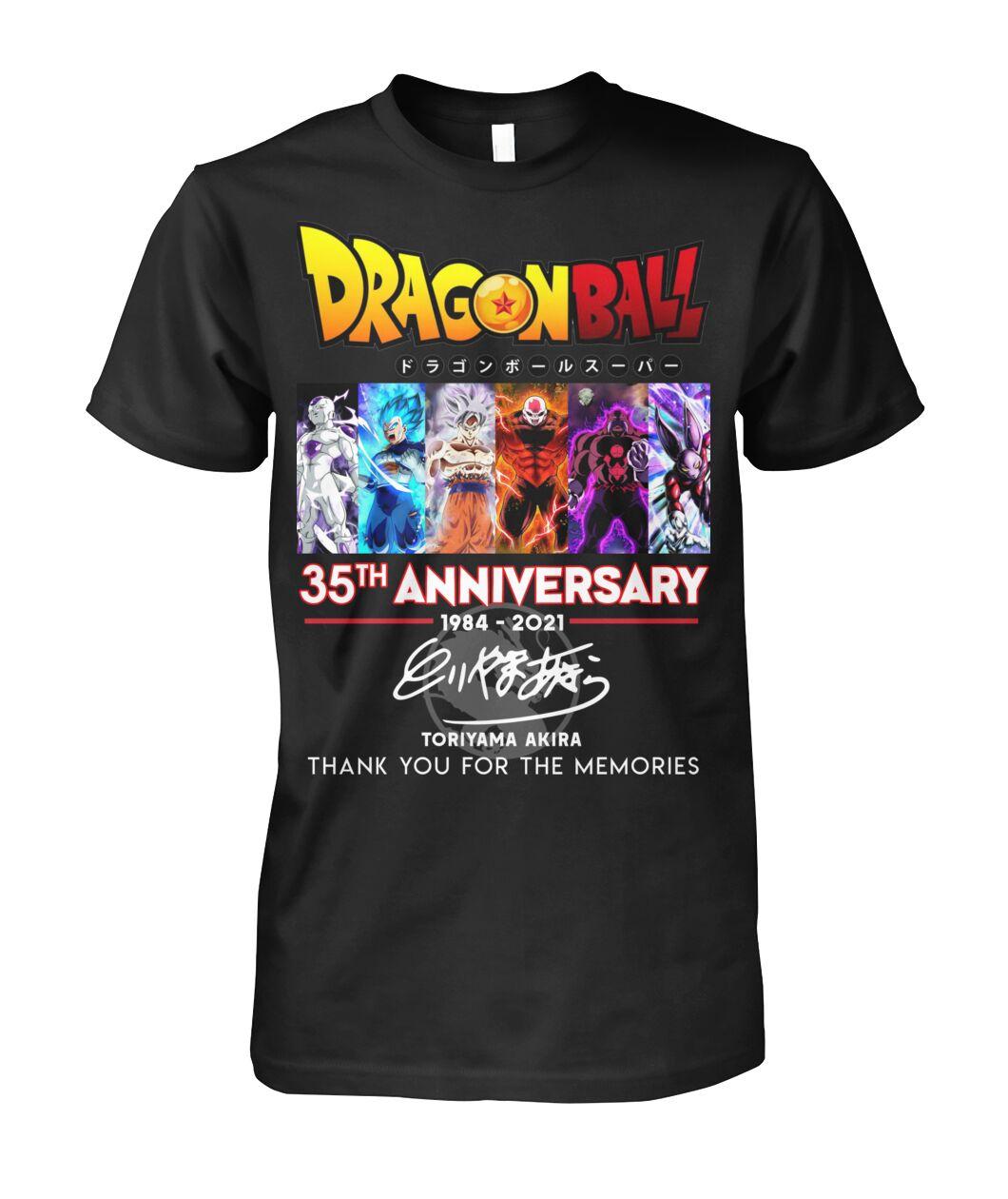 Dragon Ball 35th anniversary shirt