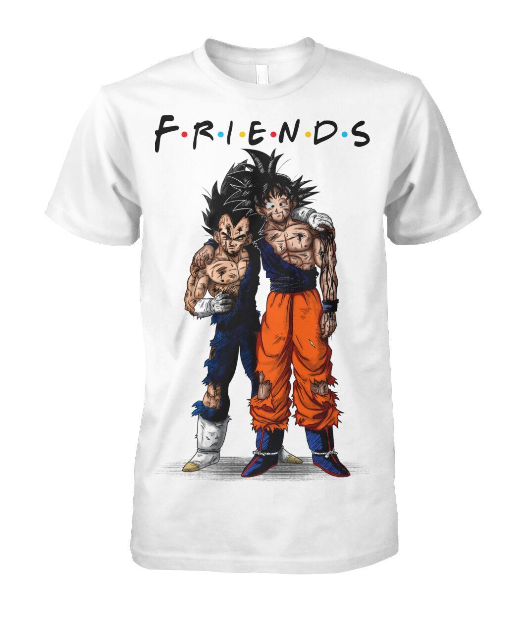 Dragon Ball Son Goku And Vegeta Friends shirt