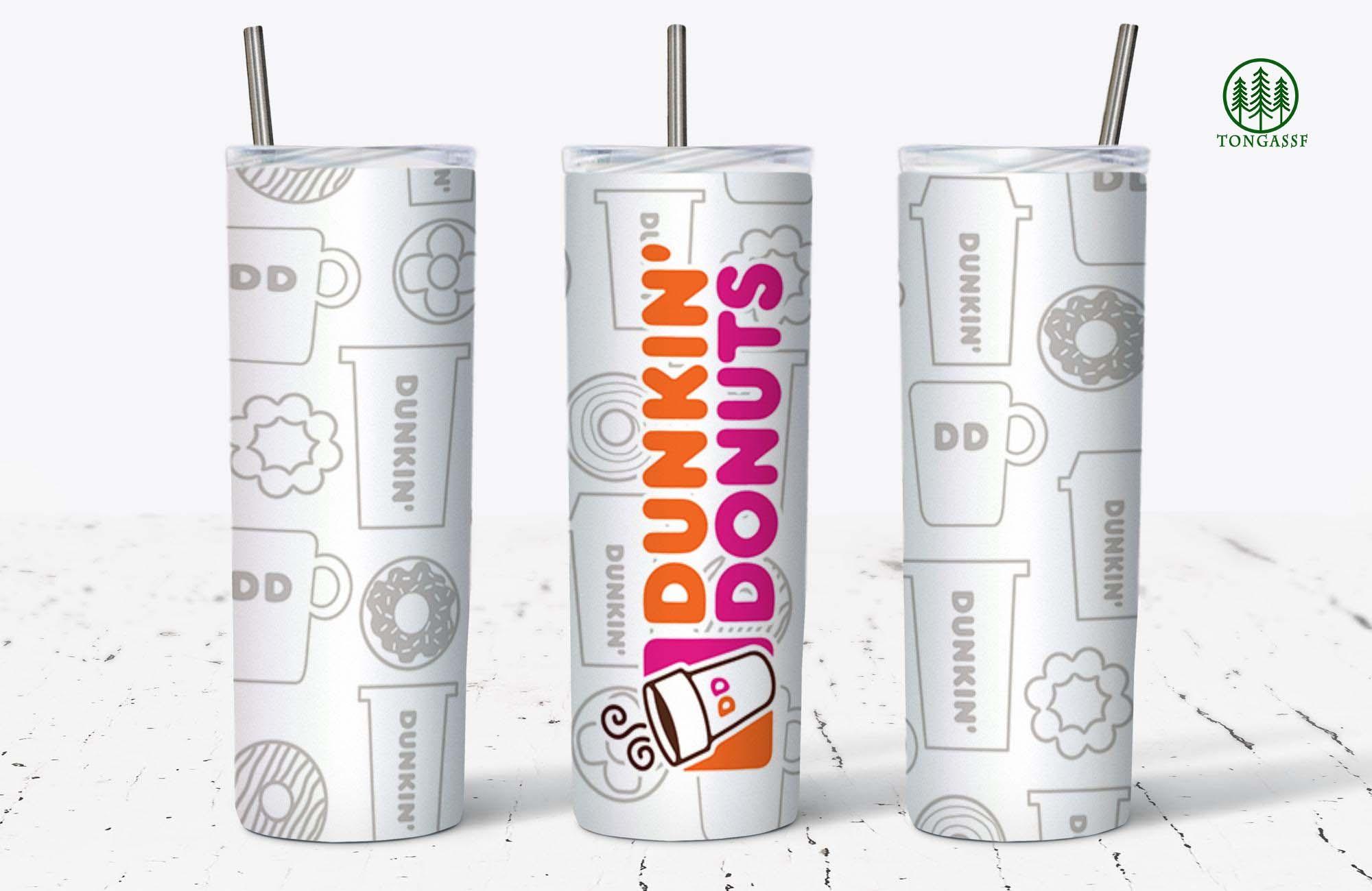 Dunkin Donuts Skinny Tumbler
