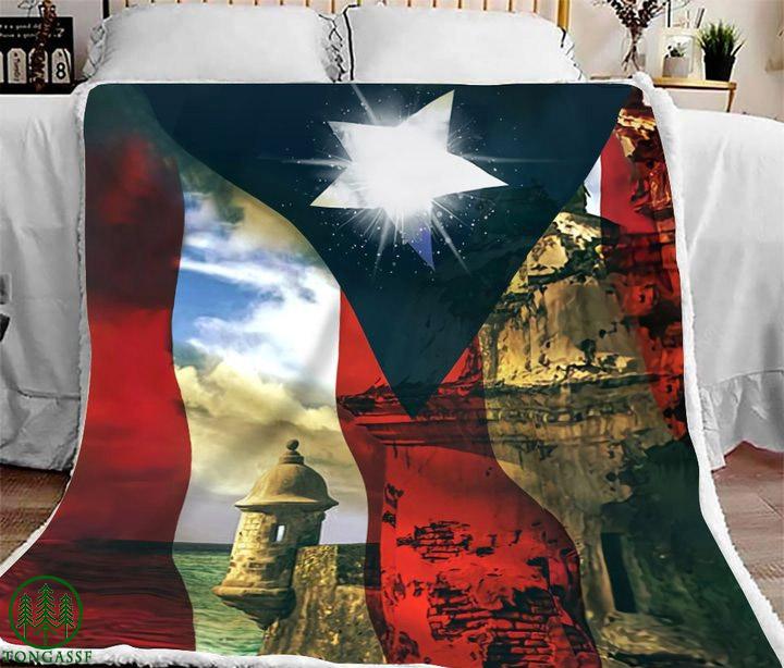 El Morro Puerto Rico Caribbean bedding set