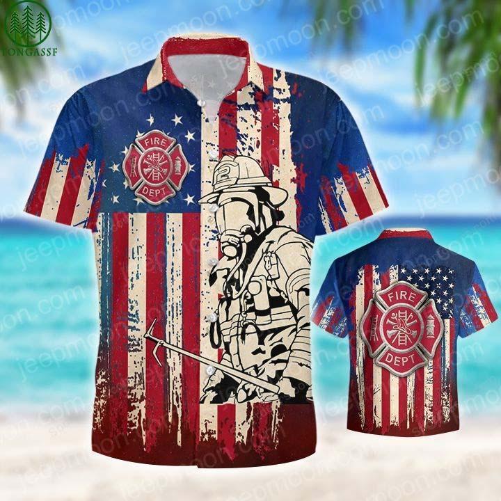 Firefighter Hawaiian shirt Collection 2021