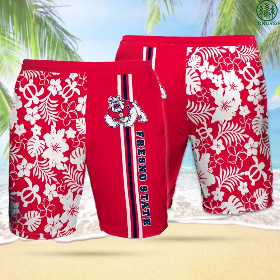 FRESNO STATE BULLDOGS Hawaiian Shorts