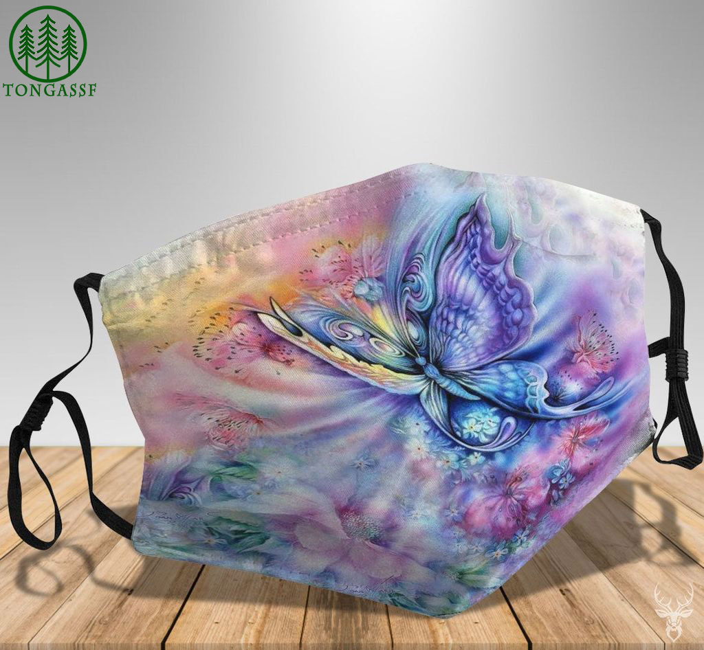 Fantastic magic butterfly face mask