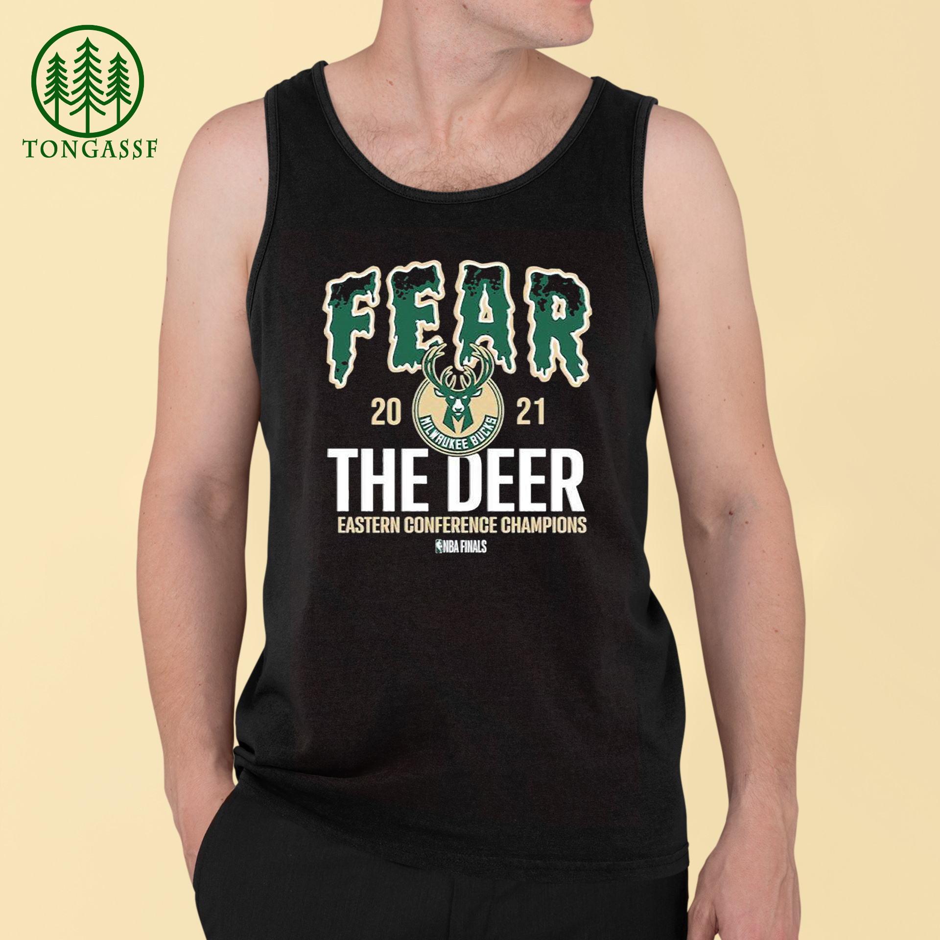 Fear 2021 the deer eastern conference Champions NBA Finals shirt