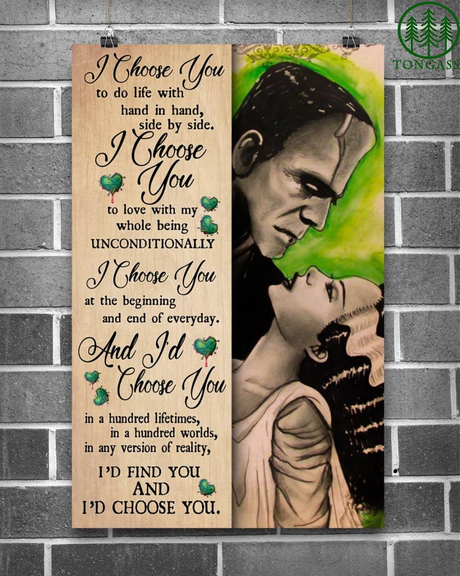 Frank I Choose You Vertical Poster