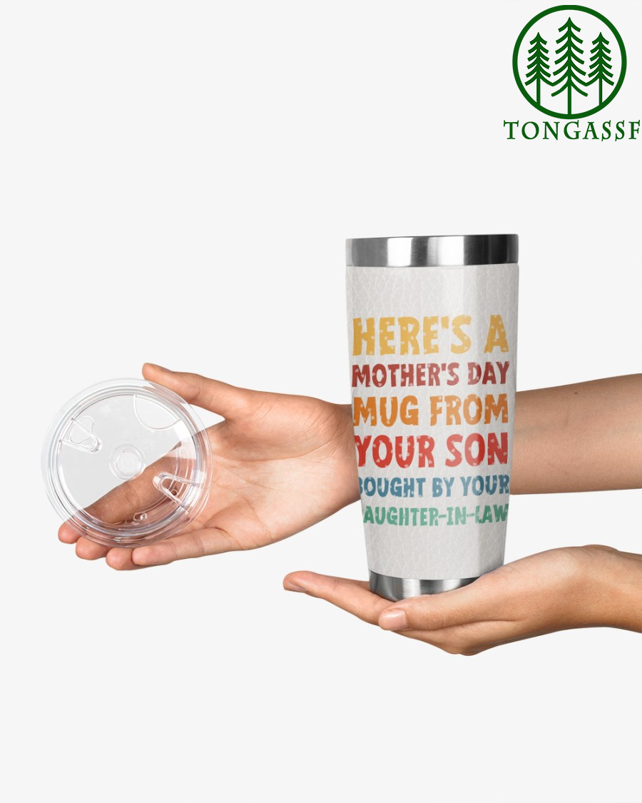 From Your Son Bought By Daughter in law Stainless Steel Tumbler