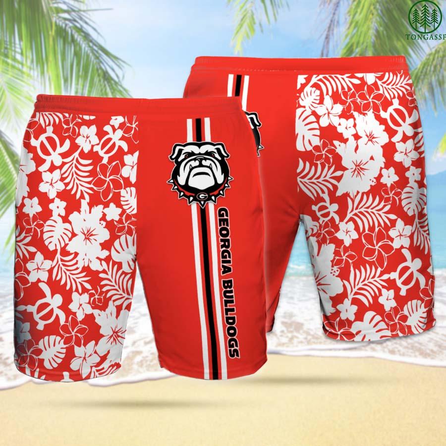 GEORGIA BULLDOGS Hawaiian Shorts