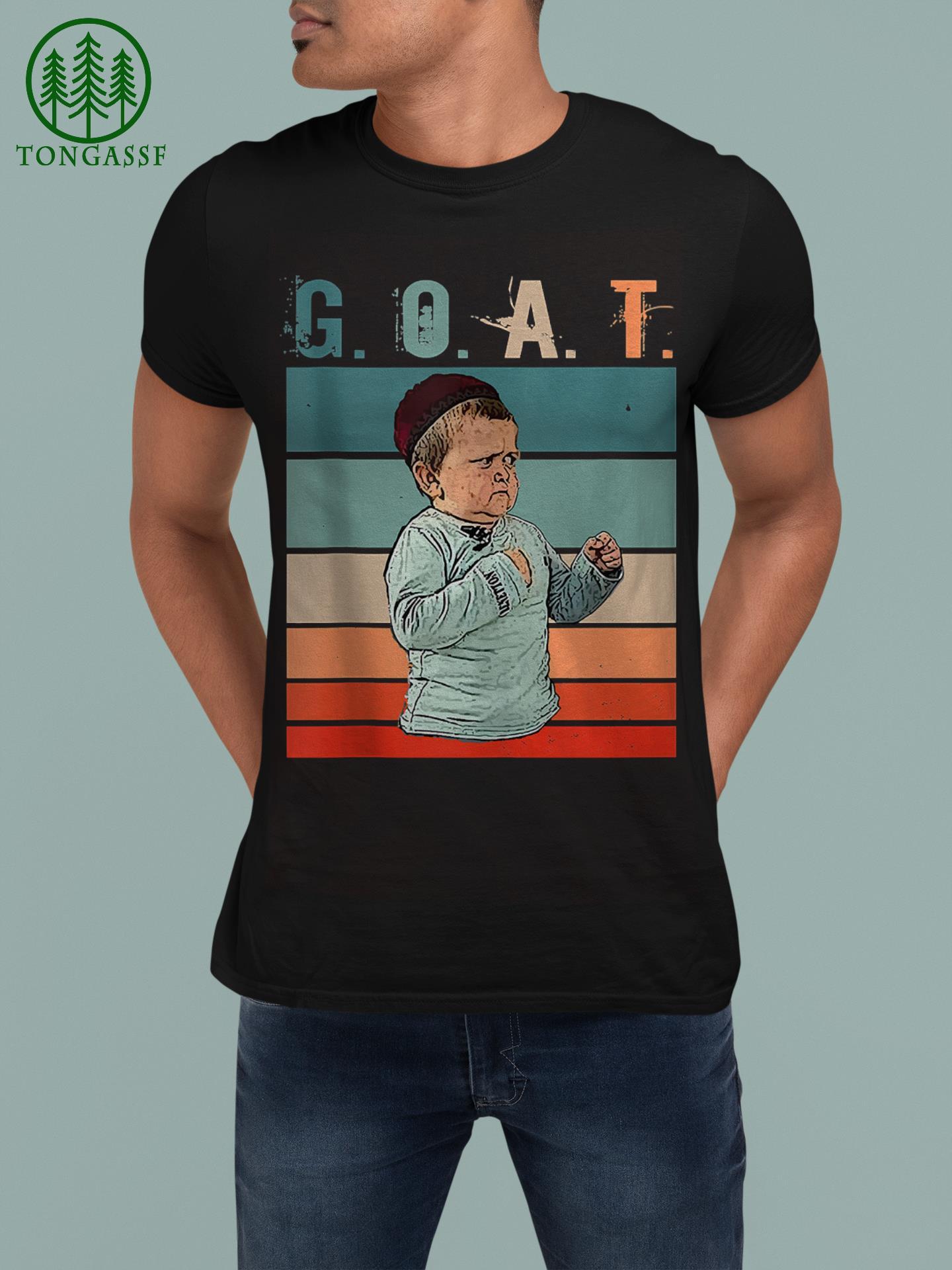 GOAT MMA Hasbulla Fighting Meme Shirt