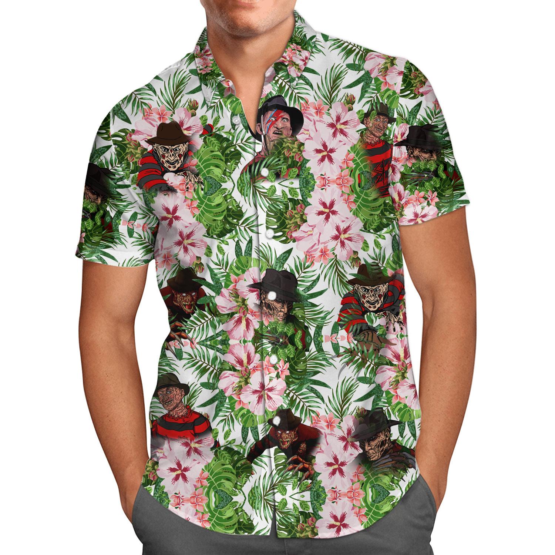 Freddy Krueger Horror Halloween Hawaii shirt and Short