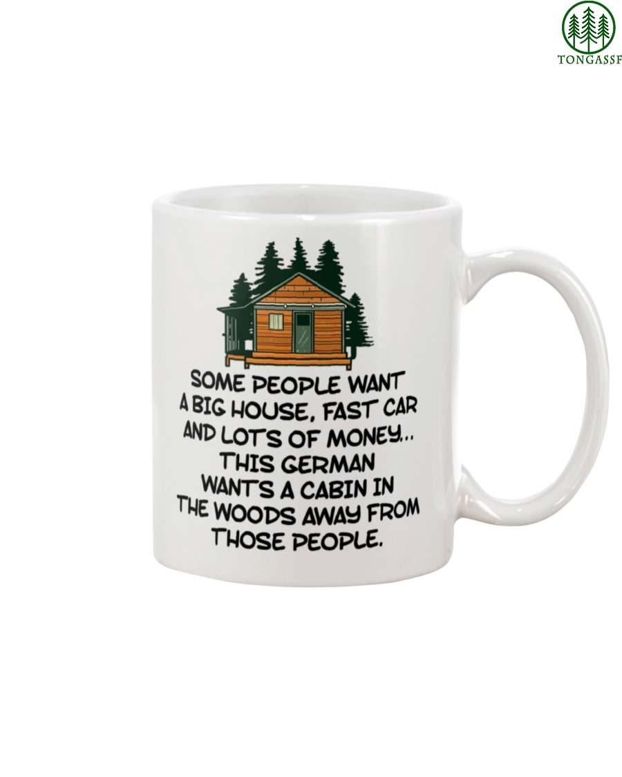 German Cabin In The Woods Mug