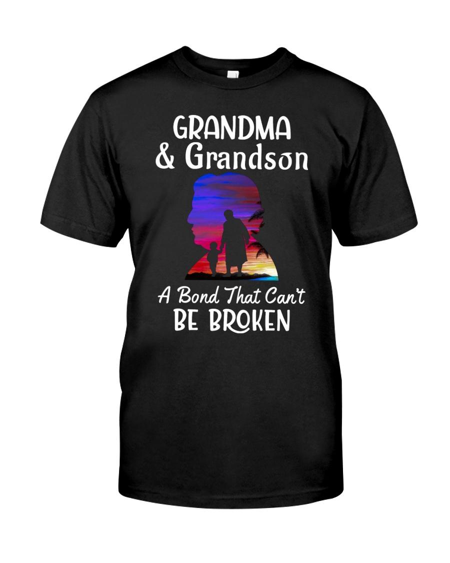 Grandma And Grandson Classic T Shirt