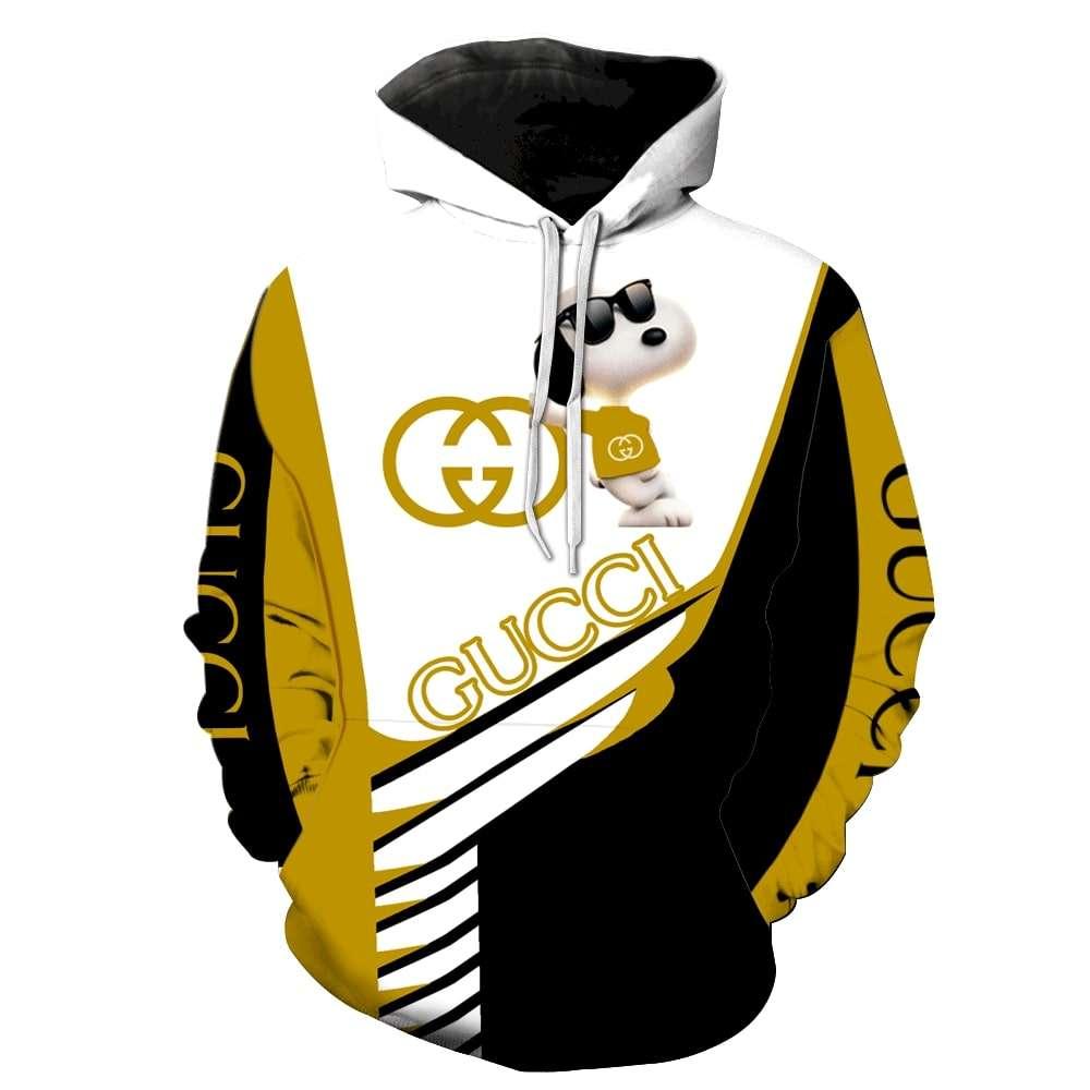 Gucci Snoopy Hoodie 3D