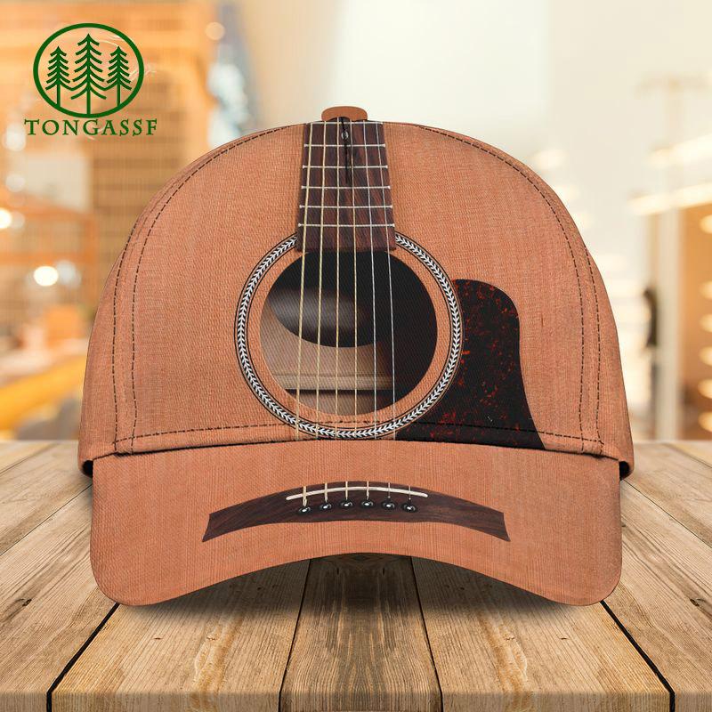 Guitar classic 3D cap